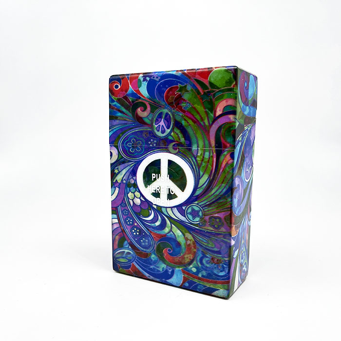 Atomic Zigarettenbox King Size Peace and Love Peace Symbol