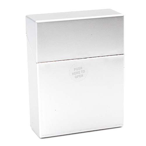 Atomic Zigarettenbox Big Box King-Size Silber