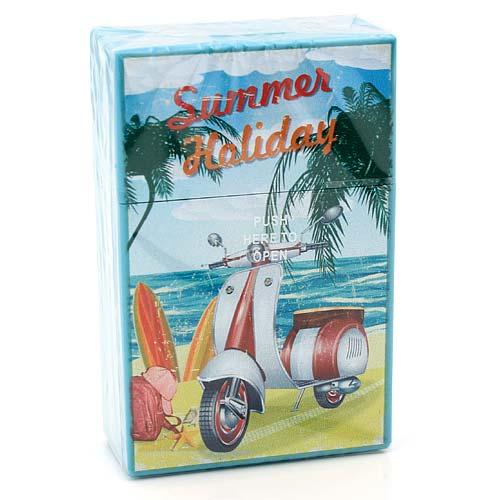 Atomic Zigarettenbox King Size Summer Holiday Blau