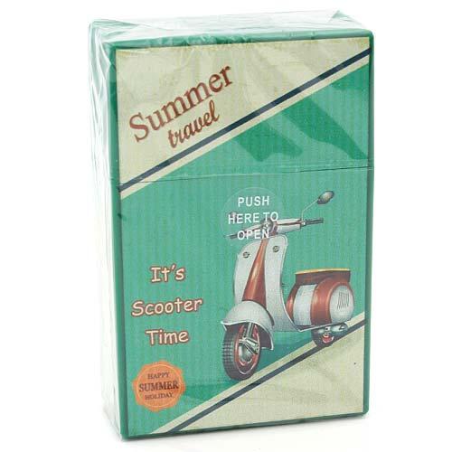 Atomic Zigarettenbox King Size Summer Travel Grün