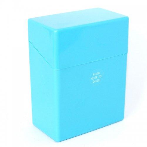 Atomic Zigarettenbox Hellblau für 50 Stück Zigaretten