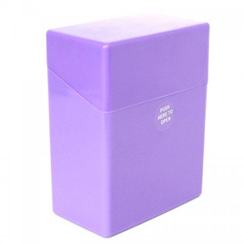 Atomic Zigarettenbox Lila für 50 Stück Zigaretten