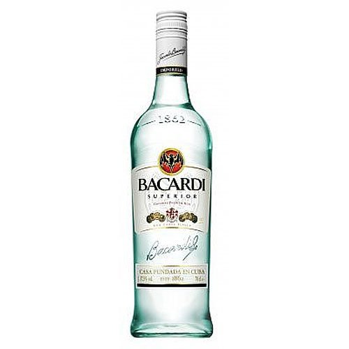 Bacardi Rum Superior 37,5% vol. Alkohol