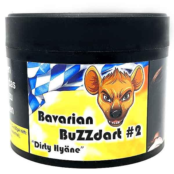 Bavarian BuZZdart #2 Dirty Hyäne 200g Shisha Tabak