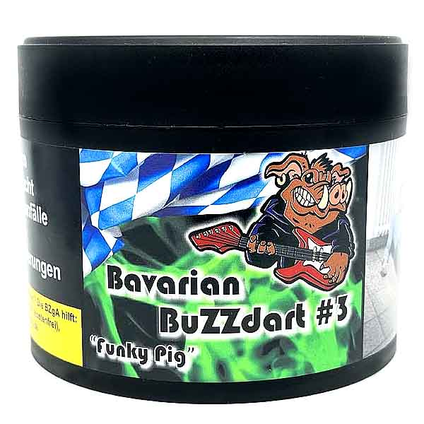 Bavarian BuZZdart #3 Funky Pig 200g Shisha Tabak