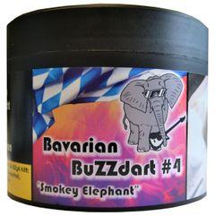 Bavarian BuZZdart #4 Smokey Elephant 200g Shisha Tabak