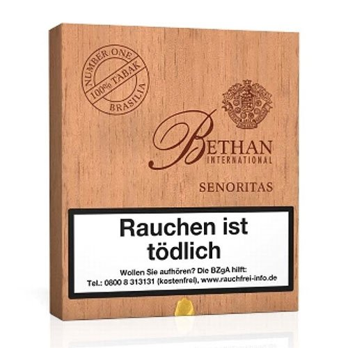 Bethan No 1 Senoritas Brasilia International Zigarren