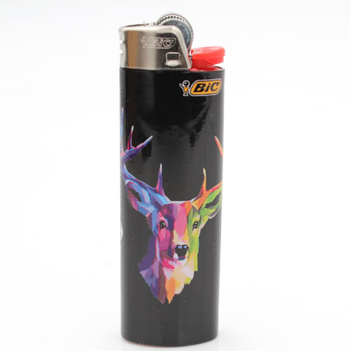 BIC Feuerzeug Forest Animals 8v8
