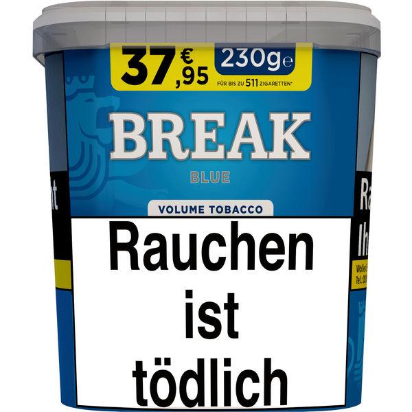 Break Tabak Blau 230g Eimer Volumentabak