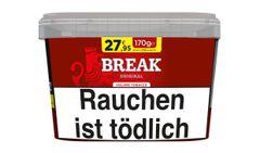 Break Original Rot 170g Eimer Volumentabak