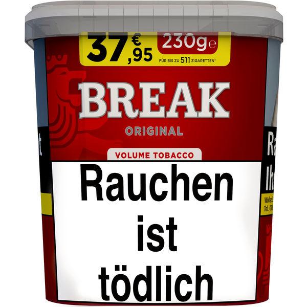 Break Tabak Original Rot 230g Eimer Volumentabak