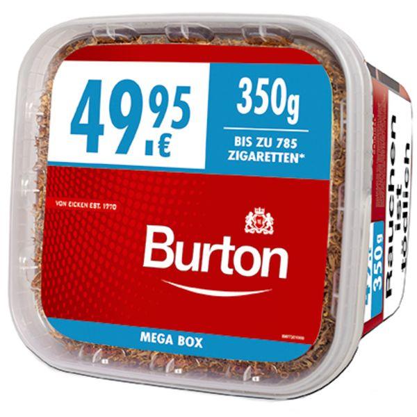 Burton Tabak Rot XXXL 350g Mega Box Volumentabak