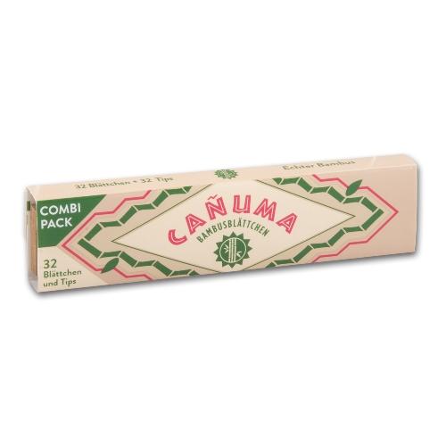 Canuma Bambusblättchen Slim + Filter Tips 1x32 Stück