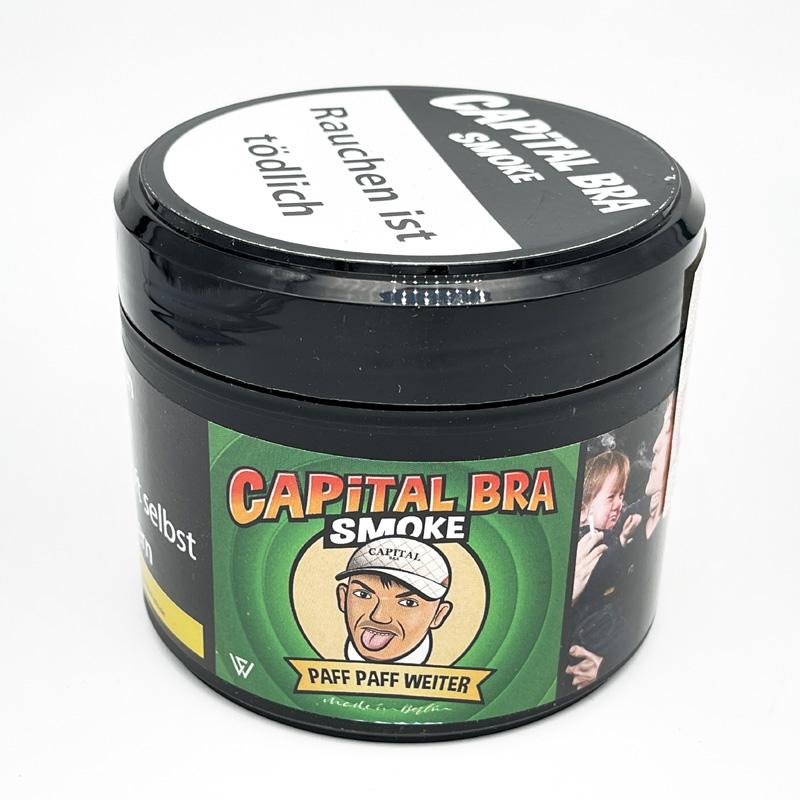 CAPITAL BRA Smoke Paff Paff Weiter Shisha Tabak (Apfel)