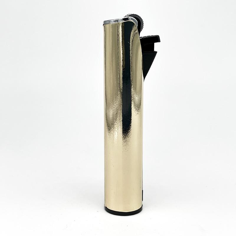 Champ Lighters Deluxe, Feuerzeug mit Reibrad, Flint metal, gold