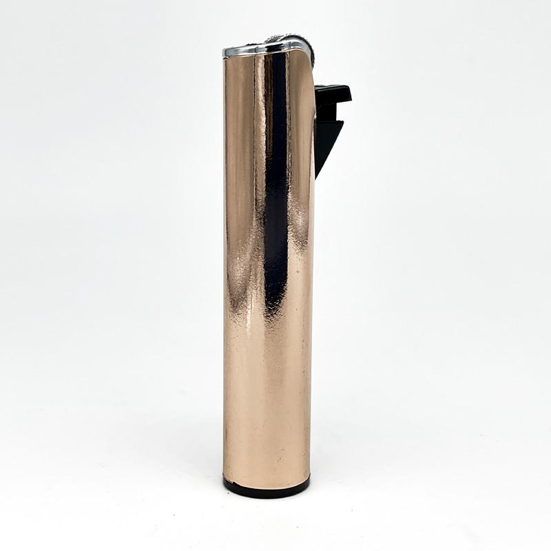 Champ Lighters Deluxe, Feuerzeug mit Reibrad, Flint metal, rose-gold