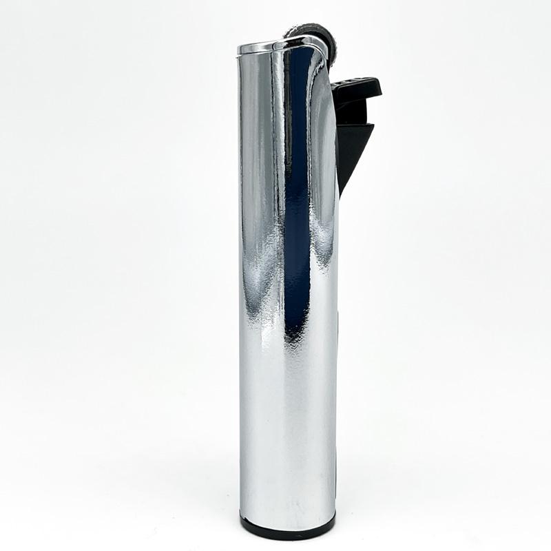 Champ Lighters Deluxe, Feuerzeug mit Reibrad, Flint metal, silber