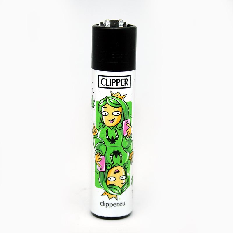 Clipper Feuerzeug Cards KÖNIGIN