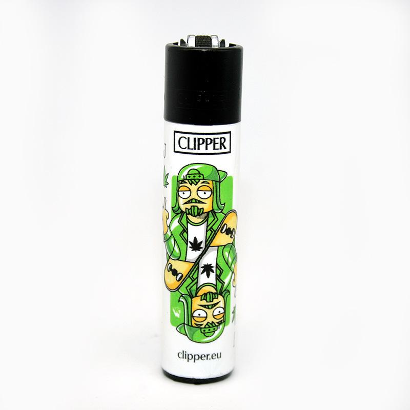 Clipper Feuerzeug Cards Skater