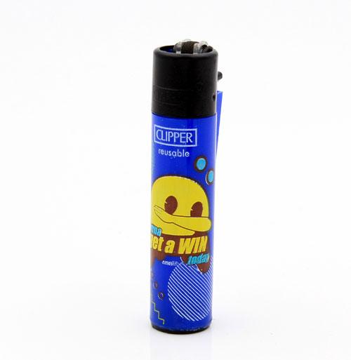 Clipper Feuerzeug Emoji Gaming 1v4