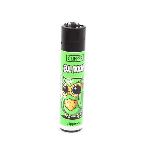 Clipper Feuerzeug Eulen 3v4