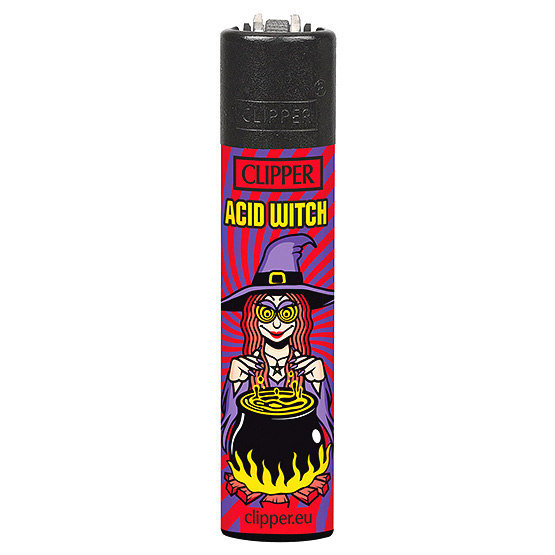 Clipper Feuerzeug Fabelwesen ACID WITCH