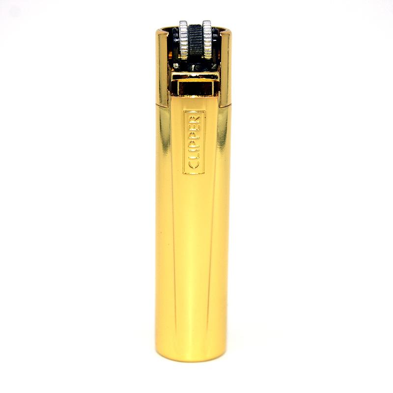 Clipper Feuerzeug Gold glänzend