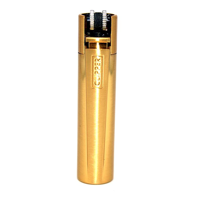 Clipper Feuerzeug Gold matt