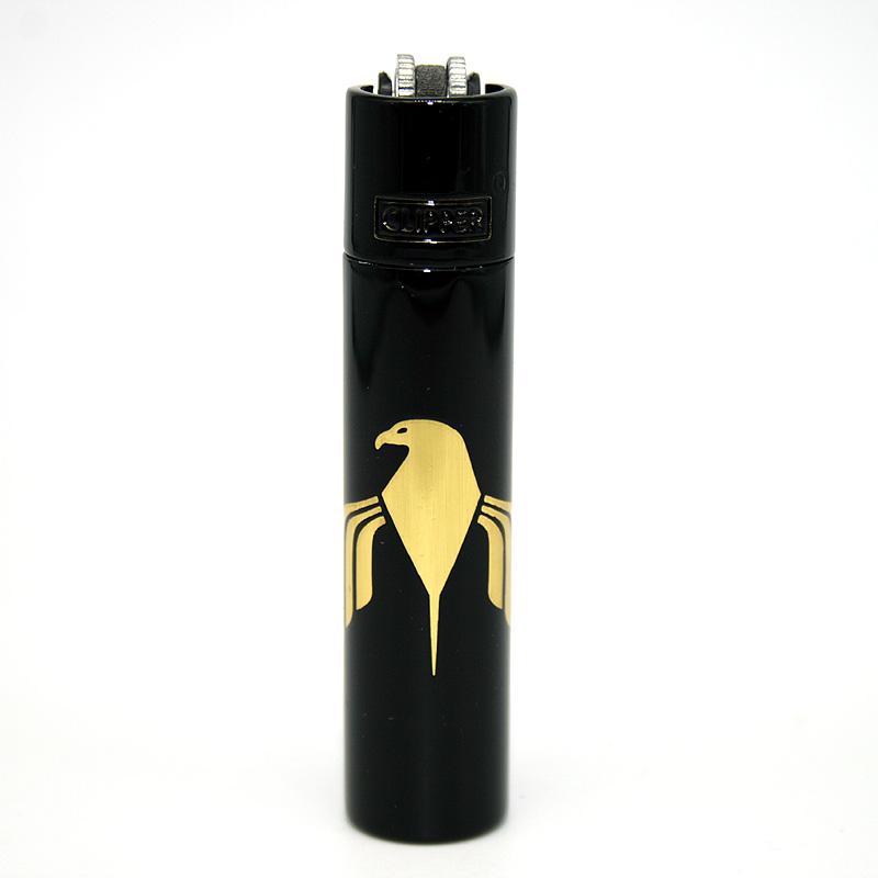 Clipper Feuerzeug Motard schwarz