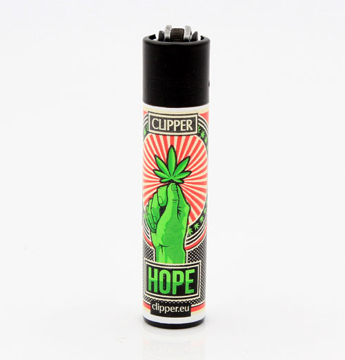 Clipper Feuerzeug Propaganja HOPE