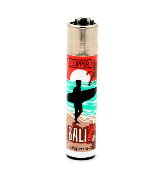 Clipper Feuerzeug Surf Destinations Bali 3v4
