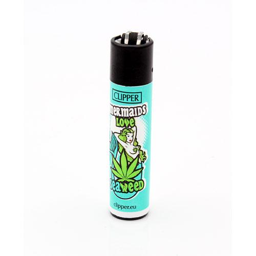 Clipper Feuerzeug Weed Slogan 4 4v4