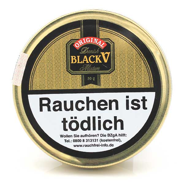Danish Black V (Black Vanilla) 50g Dose Pfeifentabak
