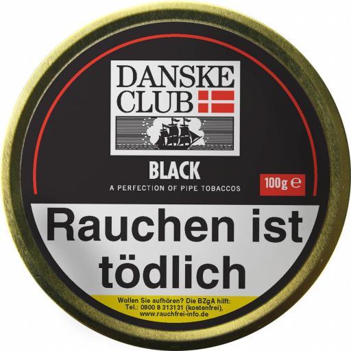 Danske Club Black (Luxury) Pfeifentabak 100g Dose