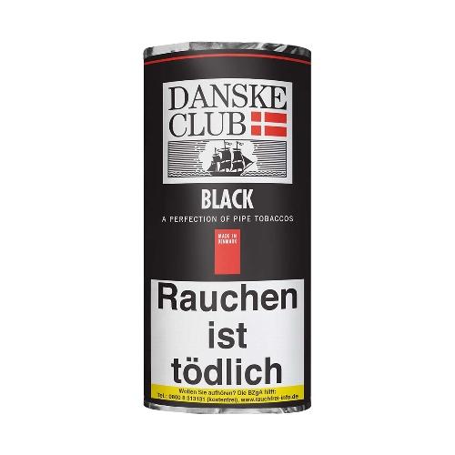 Danske Club Black Pfeifentabak 50g Päckchen