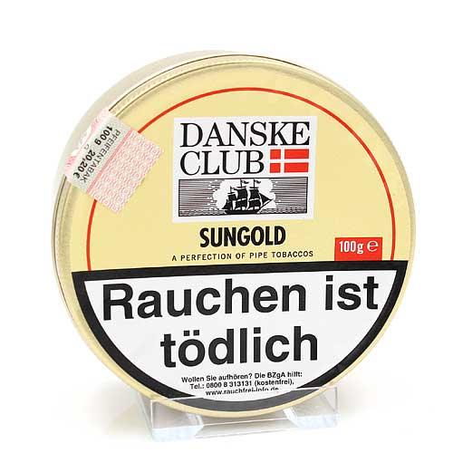 Danske Club Pfeifentabak Sungold 100g Dose