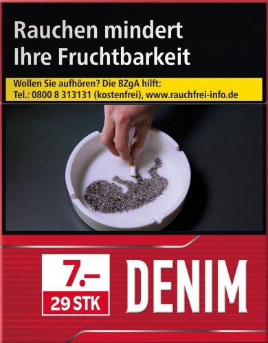 Denim Red XXL (8x30)