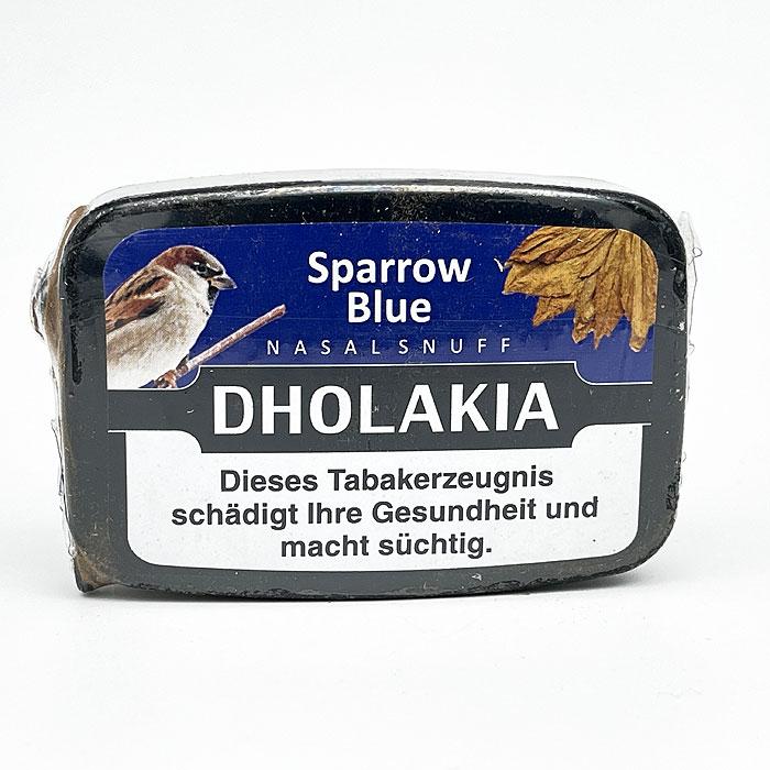 Dholakia Sparrow Blue Nasalsnuff 9g Dose