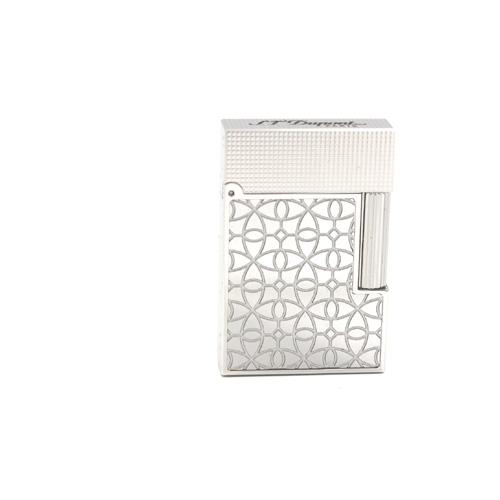 DUPONT Ligne2 Small Platinum Arabesque silber