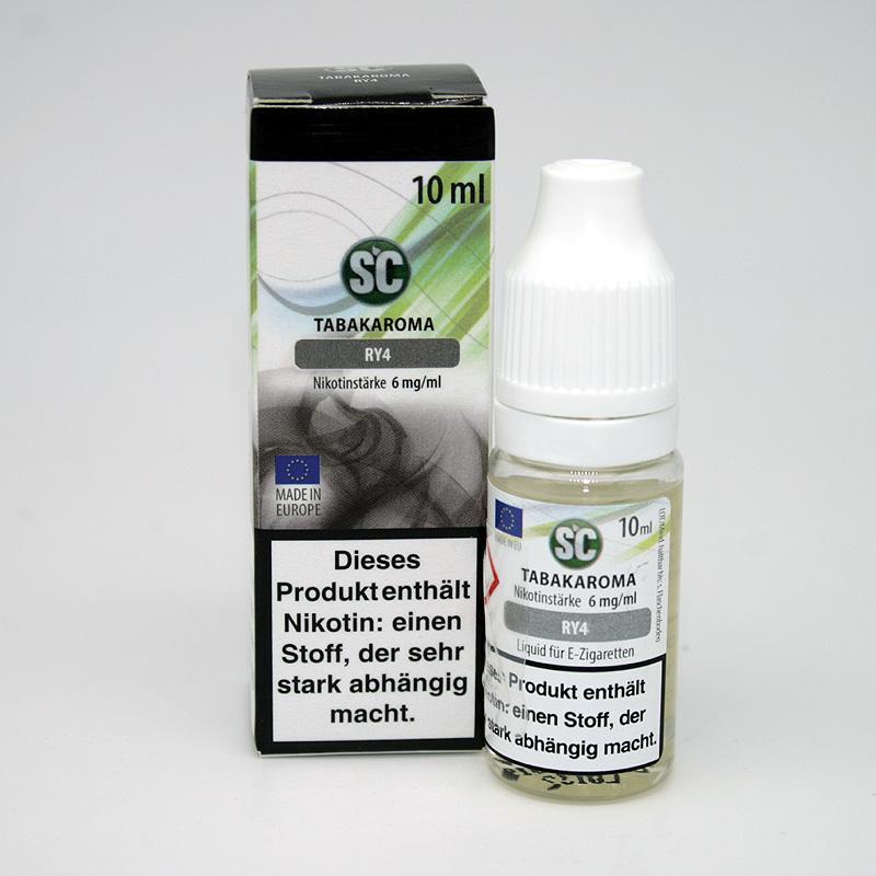 E-Liquid SC Aroma RY4 6mg Nikotin