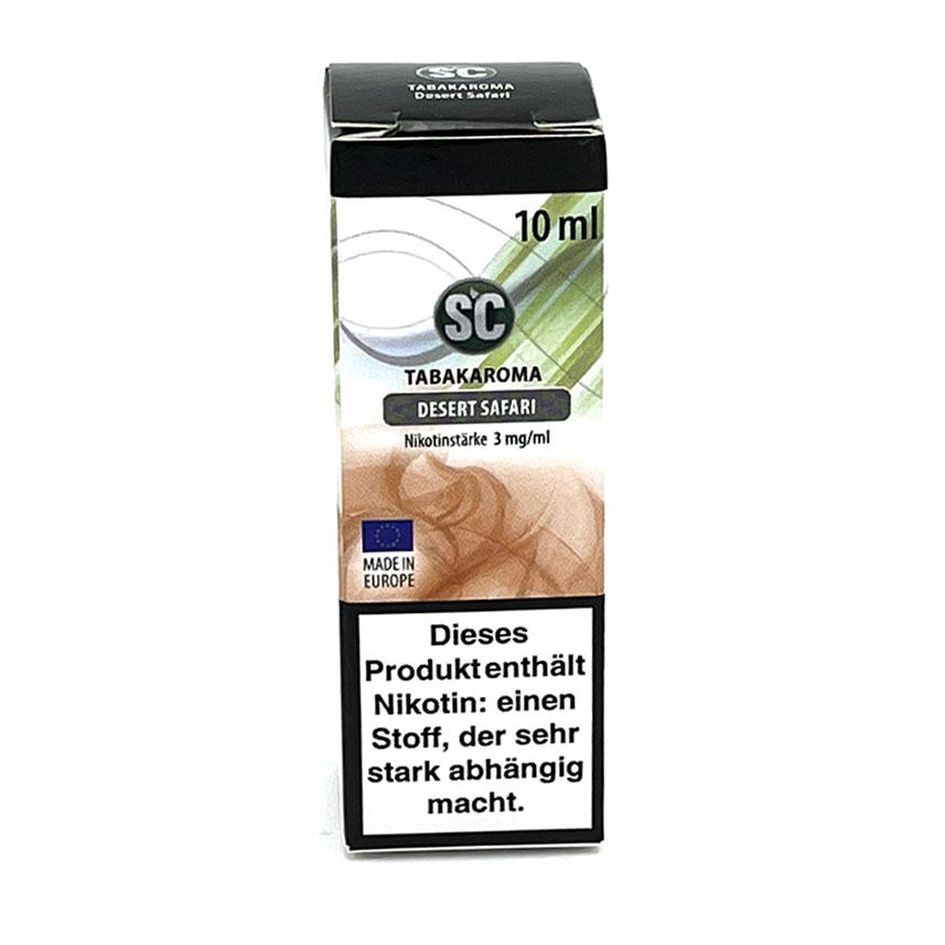 E-Liquid SC Tabakaroma Desert Safari 3mg Nikotin