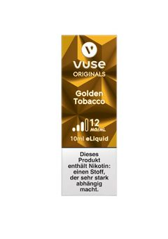 Vuse Bottle Golden Tobacco 12 mg e-Liquid