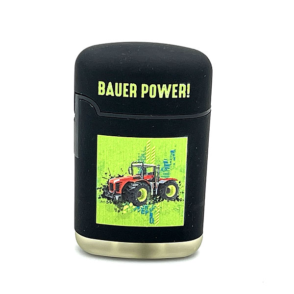 Easy Torch Bauer Power! Motiv Feuerzeug schwarz