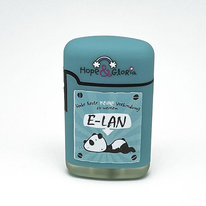 Easy Torch Hope & Gloria Habe heute keine Verbindung zu meinem E-LAN Motiv Feuerzeug
