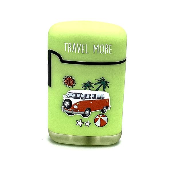 Easy Torch Travel More Feuerzeug hellgrün