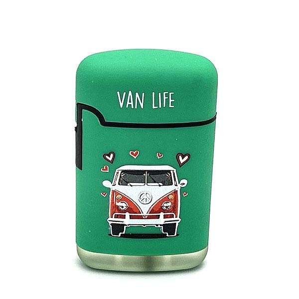 Easy Torch Van Life Feuerzeug grün