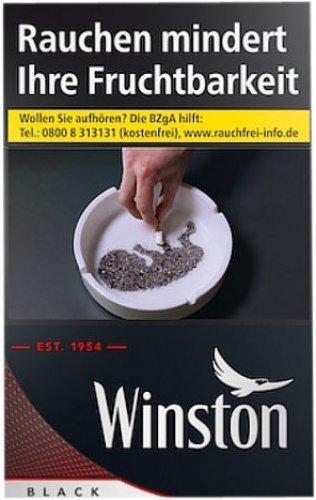 Einzelpackung Winston Black (1x20)