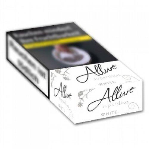 Einzelpackung Allure Superslims Weiß (1x40)