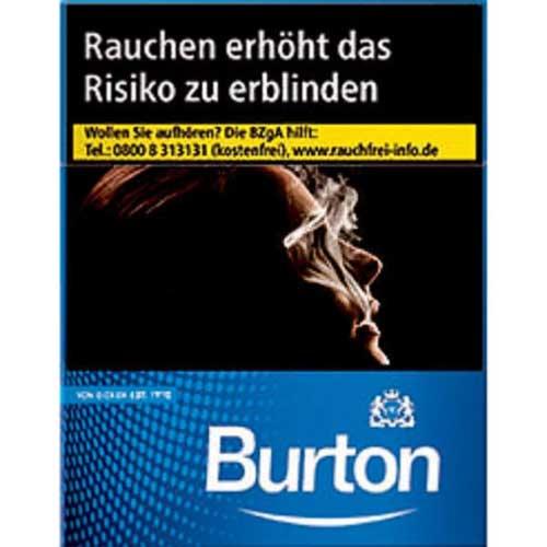 Burton Blue (White) XL Zigaretten Packung (1x24)
