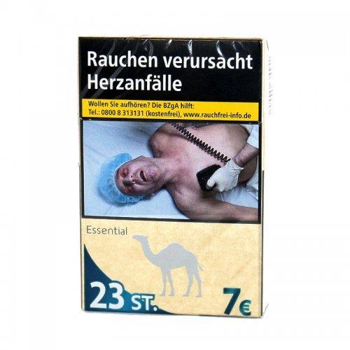 Einzelpackung Camel Essential Blau XL (1x22)